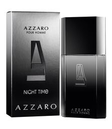 Apa de Toaleta Azzaro Night Time, Barbati, 100ml