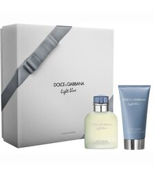 Set Dolce & Gabbana, Light Blue, Barbati: Apa de Toaleta, 75 ml + Balsam Aftershave, 75 ml