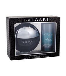 Set Bvlgari, Aqva pour Homme, Barbati: Apa de Toaleta, 100 ml + Deodorant Stick, 75 ml